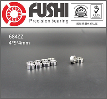 684ZZ Bearing 4*9*4 mm ABEC-5 ( 10 PCS ) Miniature 684Z Ball Bearings 684 ZZ 618/4ZZ