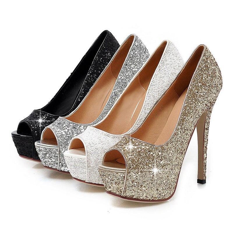 Shoes type   Women high heel platform pumps. fgfbb 3 9 10 11 12 8 ... af6ce656acc0