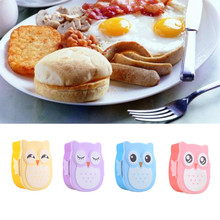 Cute Cartoon Lunch Food Containers Food Contain Bento Boxes Owl Plastic Lunch Storage Box Oven Heating For Kids