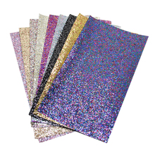 David accessories 20*34cm glitter synthetic leather fabric for Tissue Kids home textile for Sewing Tilda Doll,c2043