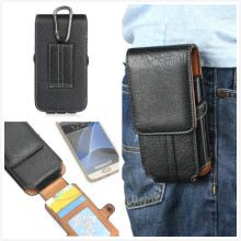 "5.1"" High Quality pu Leather TMobile Phone Waist Bag For Micromax AQ5001/Canvas Power AQ5001 / Canvas Juice 2 AQ5001"