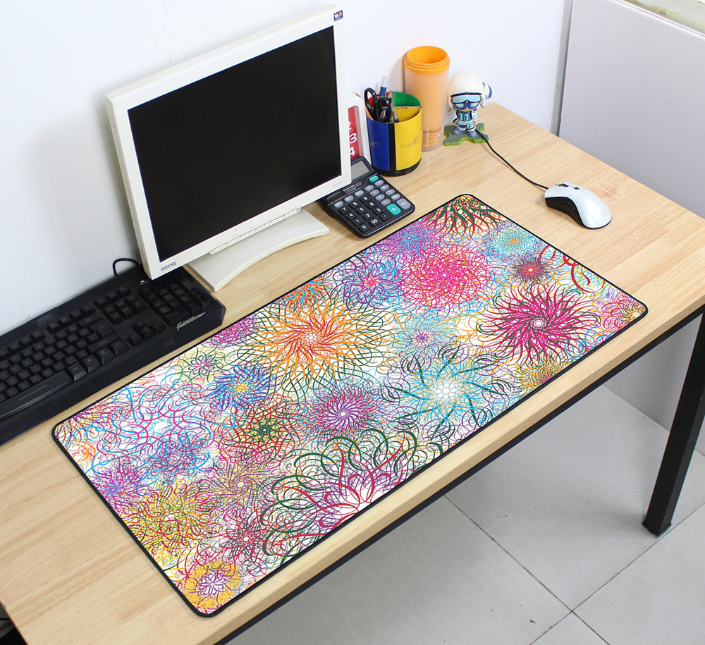Custom Large mouse pad 700x400mm speed Keyboards Mat Rubber Gaming mousepad Desk Mat for game player Desktop PC Computer Laptop 10