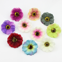 5cm 20pcs silk Artificial Cherry blossoms Flower heads, Fake Flowers for Decoration DIY Craft Accessories(China)