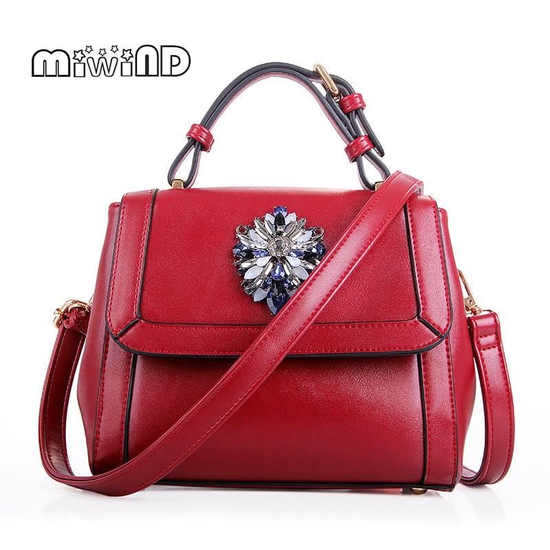 MIWIND Luxury Handbags Women Bags Designer Women Leather Handbags New Design Women Messenger Bags Free Shipping Bolsos Mujer<br><br>Aliexpress