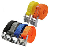 250pcs Nylon Pack Cam Tie Down Strap CARGO Lash Luggage Bag Belt Metal Buckle(China)