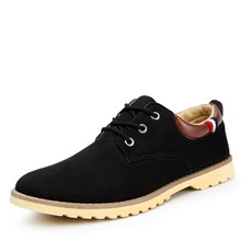2016 Original Brand Cheap New Casual Flat Genuine Leather Low Mens Shoes Oxfords Sneakers Men Chaussures Hombre