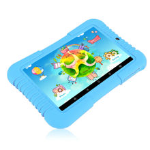 "Original iRULU Y3 7""Babypad A33 Quad Core Android 5.1 Touch Screen 1280*800 IPS Tablet PC 1G/16G Silicone Case Children Learning"