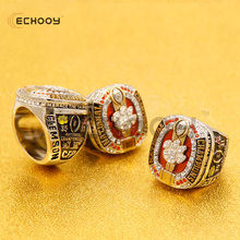 2016 2017 newest Clemson Tigers football championship ring man fashion zinc alloy sports jewelry(China)