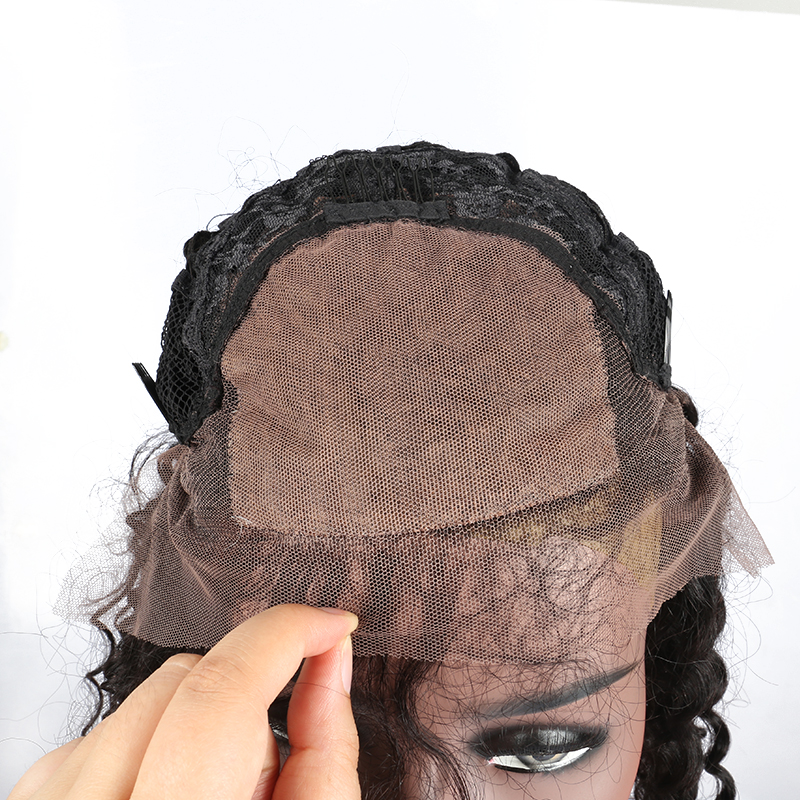 Kinky-Curly-Silk-Base-Lace-Front-Human-Hair-Wigs-For-Black-Women-With-Baby-Hair-Pre