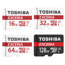 TOSHIBA Memory Card 16G/32G/64G/128G SDHC SDXC U3 Micro SD Class 10 Flash Microsd Card for Smartphones Mp3 Tablet and Camera(China)