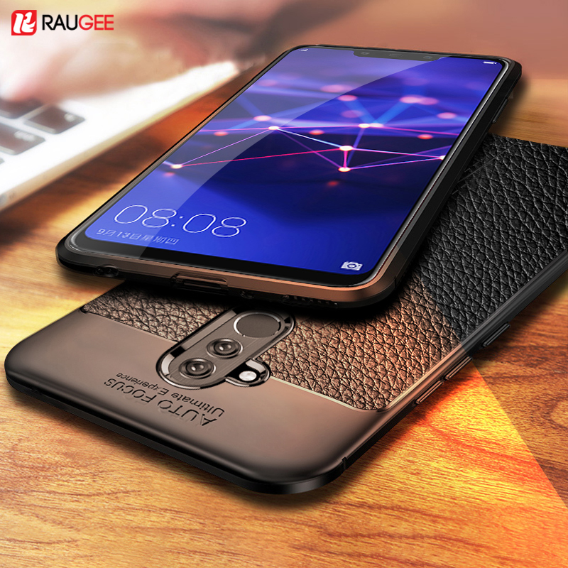 For Huawei Mate 20 Lite Case Mate20 Lite Cover Soft TPU Silicone Bumper Leather Funda Case For Huawei Mate 20 Lite Pro Cover(China)
