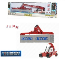 KDW 1:50 Engineering transport series Car model Large proportion Container crane toys for children(China)