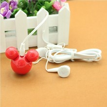New 6th Generation Lovely Tumbler Mickey MP3 Player With 4GB Memory Mini Portable With String Hole 100pcs/lot