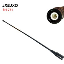 JXEJXO RH-771 RH771 High Gain Dual Band Antenna for ICOM IC-V82 V85 V80 Ham Radio BNC Connector E028