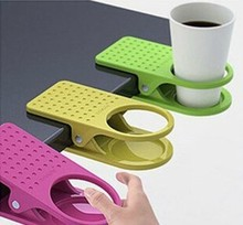 Korea creative table glass clip large table cup holder clip accusing the store priced supplier(China)