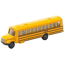 1/87 Scale American School Bus Model U1864 Diecast Bus Children Collections(China)