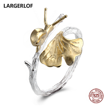 LARGERLOF 925 Sterling Silver Rings For Women Rings 2017 Fashion Ladies Rings JZ12061(China)