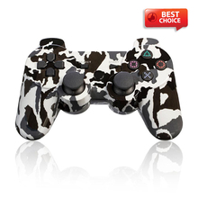 Gamepad pc Camouflage Wireless Bluetooth Double Shock Game Controller for PS3 Console gamepad