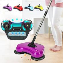 New Mop Broom Cleaning Tool 360 Rotary Magic Manual Telescopic Floor Dust Sweeper With Adjustable Handle Clean Home Easy(China)