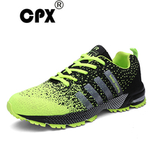 CPX Mens and womens Running Shoes Unisex Spring and Autumn Breatable Sport Shoes Comfortable Sneakers Net Athletic Shoes of Men(China)