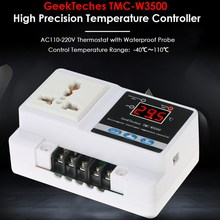 Buy AC110-250V LCD Digital Temperature Controller Thermocouple Thermostat Incubator Thermoregulator + Waterproof Sensor Probe for $17.99 in AliExpress store