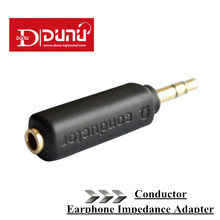 Earphone Impedance Plug Original Dunu Conductor 75/150/200 ohm Noise Cancelling adapter 3.5mm Jack for Hifi Player Music Plug.(China)