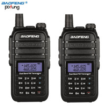 2Pcs Baofeng UV-B9 Walkie Talkie 10km High Power 8W 4800mAh Li-ion Battery Dual Band 136-174Mhz & 400-520Mhz 2 Way Radio