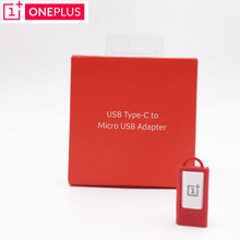 Original ONEPLUS Adapter Usb Type-c To Micro Usb Converte Adapter Support Charger OTG For One Plus 2 3 3T 5 Mobile Phone