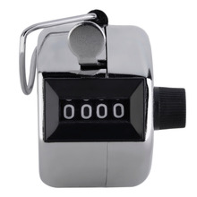 ACEHE Digital Hand Tally Counter 4 Digit Number Hand Held Tally Counter Manual Counting Golf Clicker Hot sale(China)