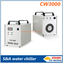 S&A CW3000 water chiller for cooling 80W CO2 laser tube