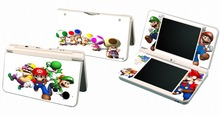 Mario and Lugi P16 Vinyl Skin Sticker Protector for Nintendo DSI XL LL for NDSI XL LL skins Stickers