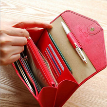 2016 Women Business Bags Ladies Large Purse Day Clutches hand Bags Leather Card Holder Purses Pouch document Bolsas Feminina