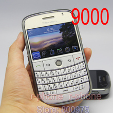 Refurbished 9000 Cellphone Original Blackberry 9000 Bold Mobile Phone Unlocked 3G GPS Wi-fi Bluetooth & One year warranty