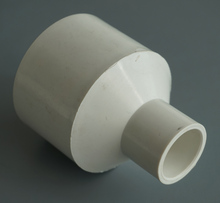 Different size PVC concentric reducer,pipe reducer for spa and bathtub piping system(China)