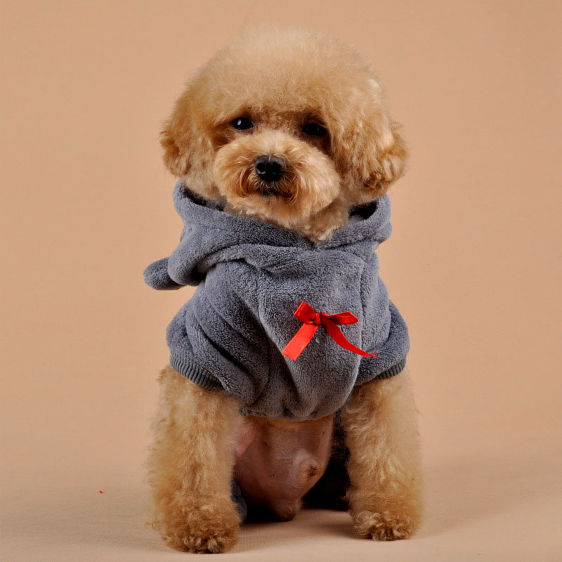 prativerdi Autumn Winter Costume Warm Love Cubs Dog Clothes Puppy Jacket Coat Soft Fluff Puppy Sweater For Pet Christmas Clothes6