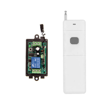 3000M Long Range DC 9V 12V 24V 1 CH 1CH RF Wireless Remote Control Switch System,315/433.92 Mhz,Transmitter + Receiver