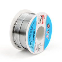 Good Solderability Solder Wire Sn 60/Pb 40 0.5mm 100g Mayitr Rosin Core Tin Lead Roll Soldering Welding Flux 2.0% Iron Wire Reel(China)