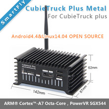 CubieTruck Plus Metal cubieboard5  cubieboard 5 H8 Development Board Android / Linux board with HDMI DP Display(China)