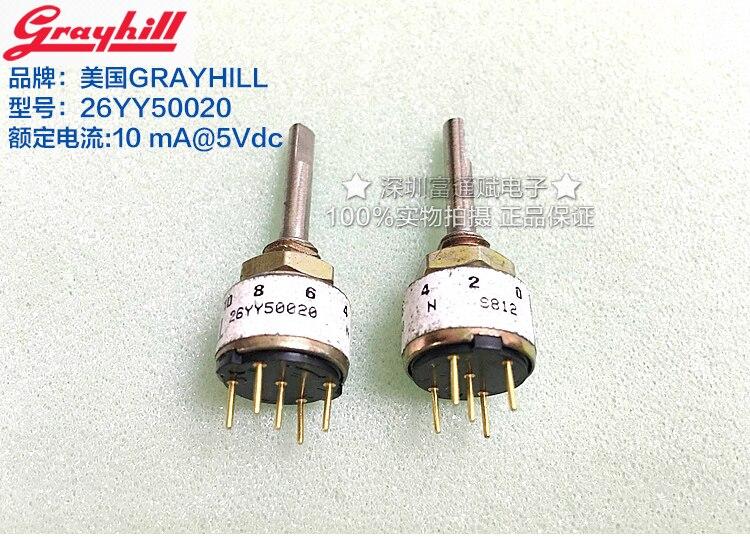 [VK] American ORIGINAL delta code switch 26YY50020 mechanical rotary encoder 10 gears 10ma 5V dc<br>