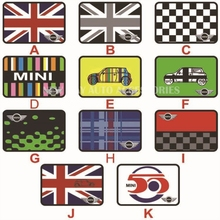 Union Jack Pad Anti-slip Mat for Car Phone GPS for MINI COOPER COUNTRYMAN F55 R56 F56 R60 Car Interior Accessories Car Styling(China)