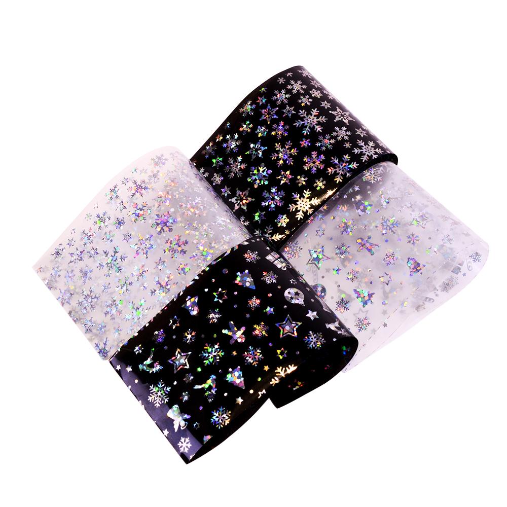 Nail Art Glitter Foil Stickers Decoration