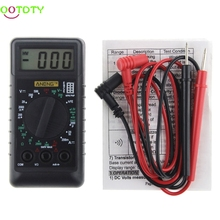 AN Extra Mini Digital Multimeter Overload Protect Voltage Ampere Ohm Meter DC AC 828 Promotion(China)