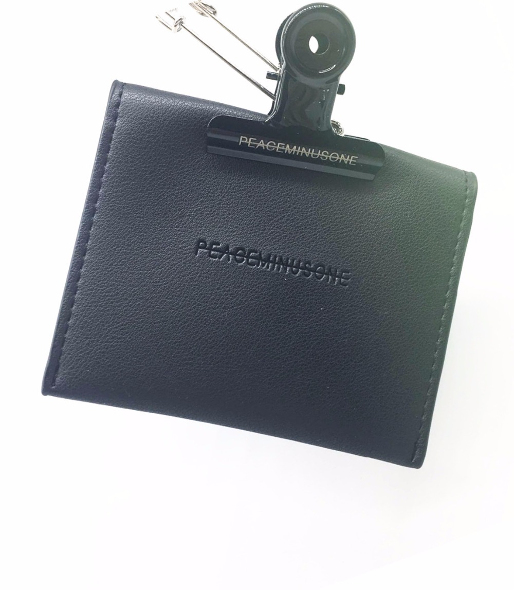 NEW-G-Dragon-Peaceminusone-PMO-PU-Mini-Bag-Collection-Purse-Black-Mini-Wallet (3)