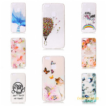 Cover For Huawei P10 Lite Cases 3D Relief TPU Painted balloon flower leaf butterfly cat Pretty Case Phone Shell