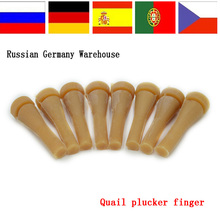 50 pcs High Qulity Rubber rod Plucking Fingers for sale(China)