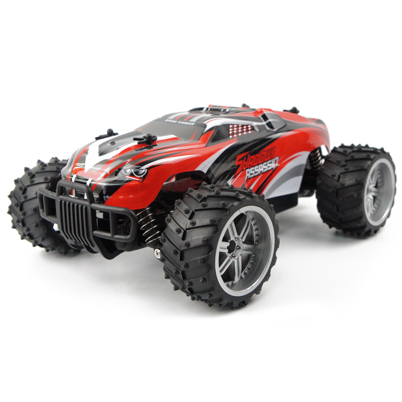 RC Car Plastic 1:16 Remote Control Car Ready-To-Go Machine Remote Control Dirt Bike 4 Channel Radio Controlled Machine