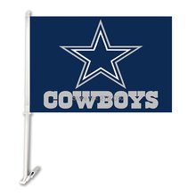 Dallas Cowboys Car Banner Double Sided World Series Super Bowl Champions Fan Dallas Cowboys Flag 11x15 Inch Sport Football(China)