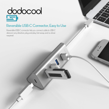 dodocool USB HUB 5Gbps 4 Ports USB 3.0 HUB with USB-C Charging PD Port Type C Hub USB C hub for Apple MacBook Google Pixel