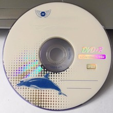 10 discs Grade A x16 4.7 GB Blank Blue Whale Printed DVD+R Disc(China)