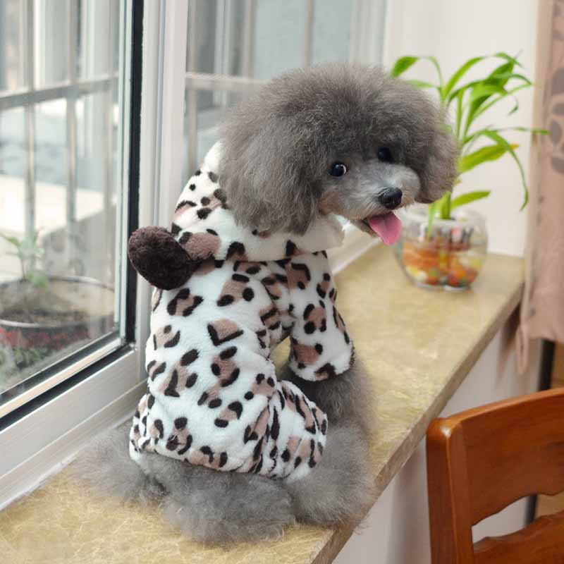 Fleece Dog Pajamas Small Dogs Pets Jumpsuits Rompers Winter Pet Clothes Chihuahua Yorkshire Clothing Wholesale Super Soft and Comfort6